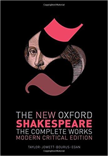 The New Oxford Shakespeare book cover image